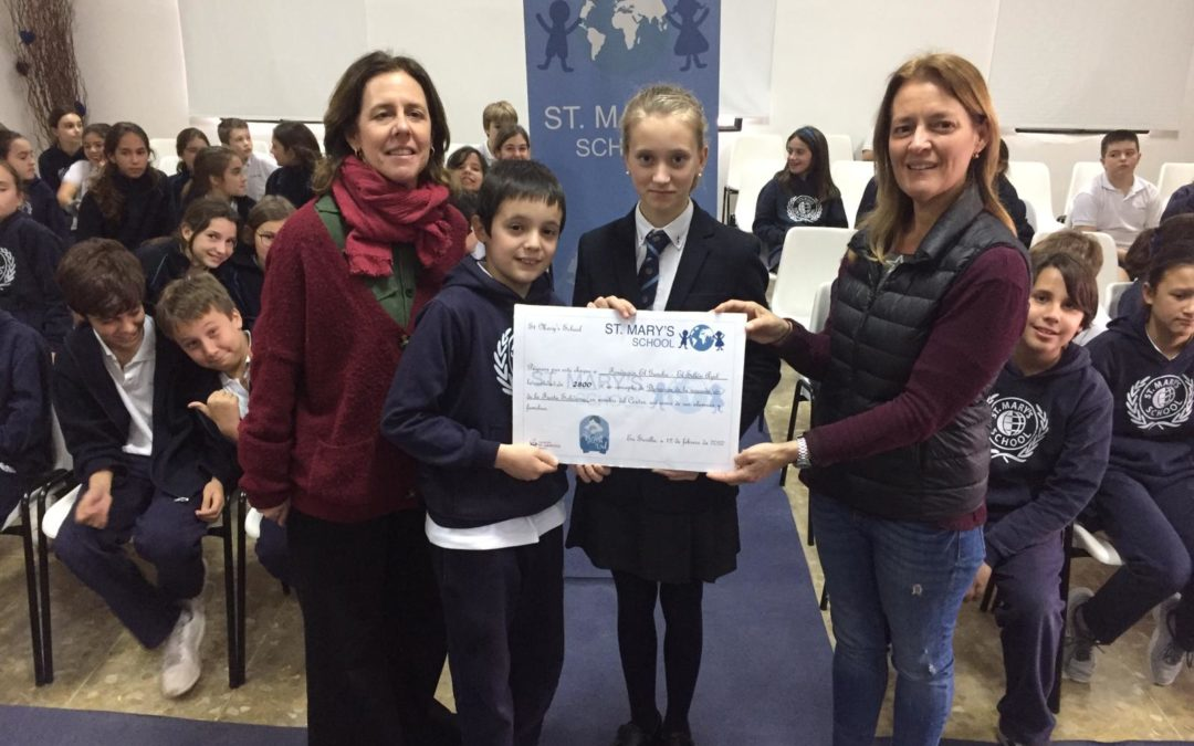 El Sillón Azul, Reto solidario conseguido | Fundación El Gancho Infantil