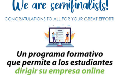 "¡SOMOS SEMIFINALISTAS DE ""YOUNG BUSINESS TALENTS""!"
