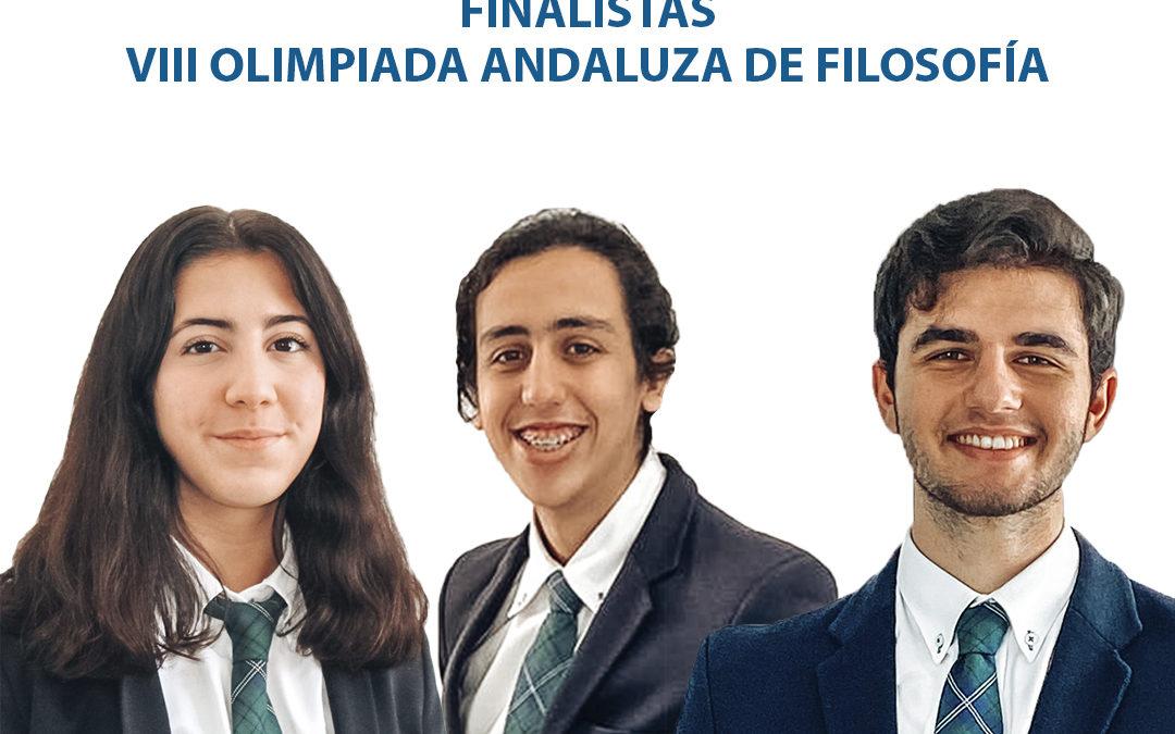 Primer y Segundo Premio VIII Olimpiada Filosófica de Andalucía - St. Mary's Students