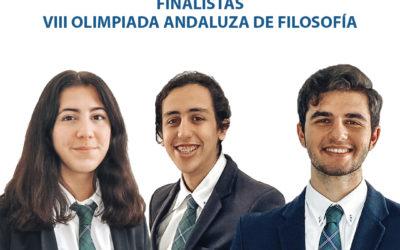 Nuestros #StMaryStudents PRIMER y SEGUNDO PREMIO en la VIII Edición de la Olimpiada de Filosofía