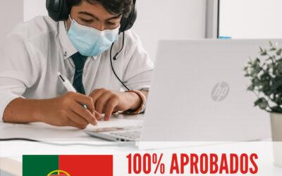 100% APROBADOS EXÁMEN OFICIAL DE PORTUGUÉS CAMOES JUNIOR